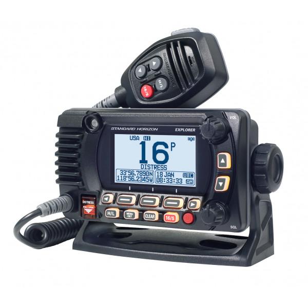 STANDARD HORIZON GX1800GPS/E, RICETRASMETTITORE FISSO VHF CON GPS 66CH, ITU CLASSE D